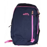 Ridge 53 DAWSON BACKPACK - NAVY/PINK