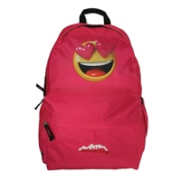 Ridge 53 MORGAN ELLA PINK EMOJI BACKPACK - PINK