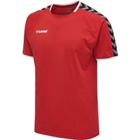 Hummel AUTHENTIC TRAINING TEE - TRUE RED
