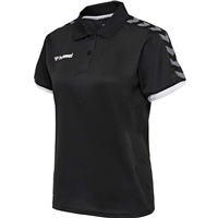Hummel AUTHENTIC WOMAN FUNCTIONAL POLO - BLACK/WHITE