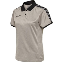Hummel AUTHENTIC WOMAN FUNCTIONAL POLO - GREY MELANGE