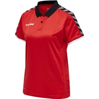 Hummel AUTHENTIC WOMAN FUNCTIONAL POLO - TRUE RED