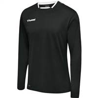 Hummel AUTHENTIC KIDS POLY JERSEY L/S - BLACK/WHITE