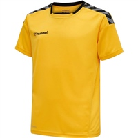 Hummel AUTHENTIC POLY JERSEY S/S - SPORTS YELLOW/BLACK