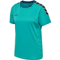Hummel AUTHENTIC POLY JERSEY WOMAN S/S - BLUEBIRD
