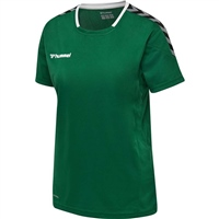 Hummel AUTHENTIC POLY JERSEY WOMAN S/S - EVERGREEN