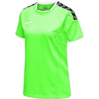 Hummel AUTHENTIC POLY JERSEY WOMAN S/S - GREEN GECKO