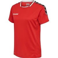 Hummel AUTHENTIC POLY JERSEY WOMAN S/S - TRUE RED