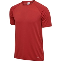 Hummel AUTHENTIC PRO SEAMLESS JERSEY S/S - CHILI PEPPER