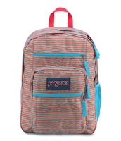 Jansport BIG STUDENT BACKPACK - 34L - BLUE/PINK