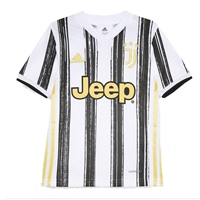 Adidas JUVENTUS HOME JERSEY 20/21 - WHITE/BLACK/GOLD
