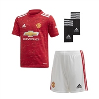 Adidas MANCHESTER UNITED MINI KIT 20/21 - RED/WHITE
