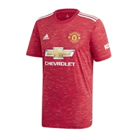 Adidas MANCHESTER UTD HOME JERSEY 20/21 - KIDS - RED