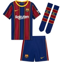 Nike BARCELONA FCB MINI HOME KIT - ROYAL/BURGUNDY