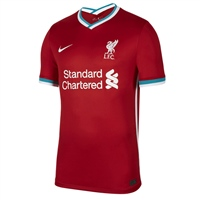 Nike LIVERPOOL FC HOME JERSEY 20/21 - KIDS - RED