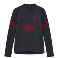 Nike LIVERPOOL FC KIDS TRACK TOP 20/21 - GREY/RED