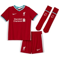 Nike LIVERPOOL FC LITTLE KIDS KITS 20/21 - RED