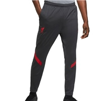 Nike LIVERPOOL FC MENS TRACK PANTS 20/21 - GREY/RED