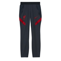 Nike LIVERPOOL FC TRACK PANTS 20/21 - KIDS - GREY/RED