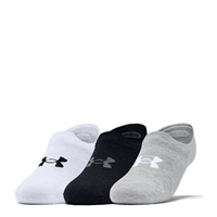 Under Armour UNISEX ULTRA LO SOCK (3PK) - WHITE/GREY/BLACK