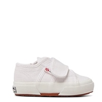 Superga BSTRAP  SHOE - KIDS - WHITE