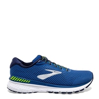 BROOKS MENS ADRENALINE GTS 20 - BLUE/LIME/SILVER