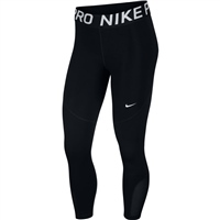 Nike WOMENS NP 365 TIGHT CROPS - BLACK/WHITE
