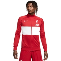 Nike LIVERPOOL FC ANTHEM TRACK JACKET - RED/WHITE