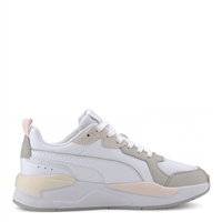 Puma WOMENS X-RAY GAME TRAINERS - WHITE/GREY/PINK