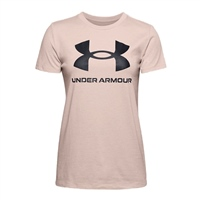 Under Armour WOMENS LIVE SPORTSTYLE SSC T-SHIRT - BROWN