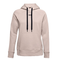 Under Armour WOMENS RIVAL FLEECE HB HOODIE - BROWN
