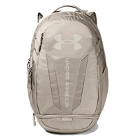 Under Armour HUSTLE 5.0 BACKPACK - BEIGE