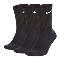 Nike EVERYDAY LIGHTWEIGHT SOCKS (3PK) - BLACK