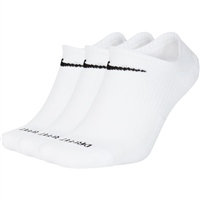 Nike EVERYDAY PLUS CUSHIONED SOCK - WHITE