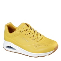 Skechers WOMENS UNO - STAND ON AIR - YLW YELLOW