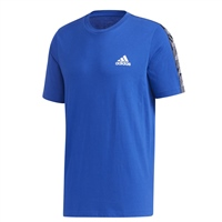 Adidas MENS ESSENTIAL TAPE T-SHIRT - ROYAL/WHITE