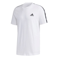 Adidas MENS ESSENTIAL TAPE T-SHIRT - WHITE/BLACK