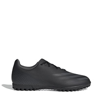 Adidas X GHOSTED .4 TURF TRAINERS - BLACK