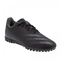 Adidas X GHOSTED .4 TURF TRAINERS - KIDS - BLACK