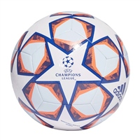 Adidas FINALE 20 UCL TEXTURE TRAINING BALL - WHITE/ROYAL