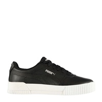Puma WOMENS CARINA L TRAINERS - BLACK/WHITE