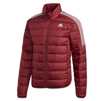 Adidas MENS ESSENTIAL DOWN JACKET - RED