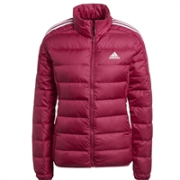 Adidas WOMENS ESSENTIAL DOWN JACKET - BERRY