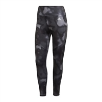 Adidas WOMENS D2M 7/8 LEGGINGS - BLACK/GREY