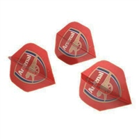 Harrows ARSENAL DART FLIGHTS - RED