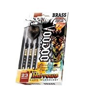 Harrows VOODOO DARTS - BLACK/GOLD
