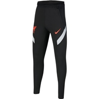 Nike LIVERPOOL STRIKE PANTS - KIDS - BLACK/GREY/CRIMSON