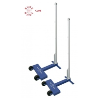 Sure Shot CLUB WHEELAWAY BADMINTON POSTS (PAIR) 45KG