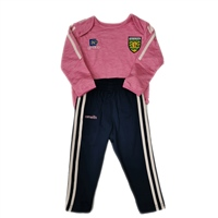 ONeills DONEGAL RAVEN INFANTS TRACKSUIT - GIRLS - PINK/NAVY