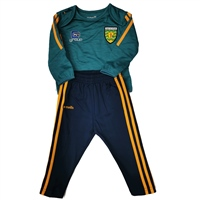 ONeills DONEGAL RAVEN INFANTS TRACKSUIT - GREEN/BLACK
